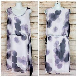 Simply Vera Wang Purple Sleeveless Dress